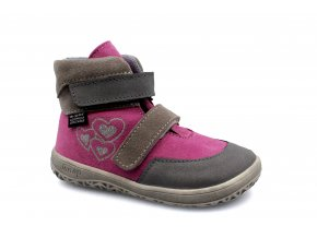 boty Jonap Jerry růžovo-šedá (EU size 20)