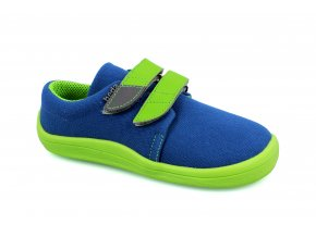 tenisky Beda Blue Lime (BF 0001/TEX/W) (EU size 20, Inner shoe length 120, Inner shoe width 60)