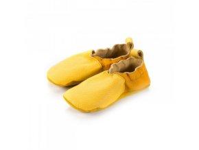 capáčky Shapen Soft soles Cutie Yellow (EU size 21)
