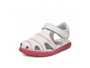 sandály LBL Rush White (RV) (EU size 22, Inner shoe length 140, Inner shoe width 64)