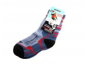 teplé merino ponožky