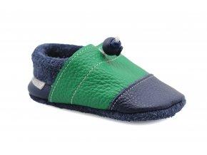 capáčky Nohatka Máta (EU size 20, Inner shoe length 120, Inner shoe width 63)