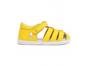 žluté letní sandálky