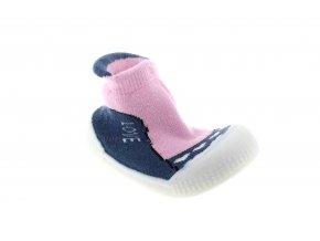ponožky s protiskluzovou silikonovou podrážkou