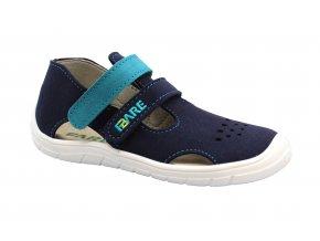 sandály Fare 5164201 modré (bare) (EU size 23)
