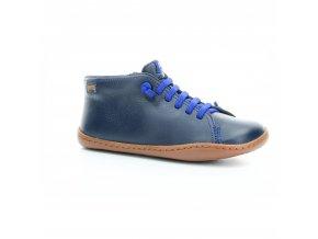 celoroční kožené chlapecké boty