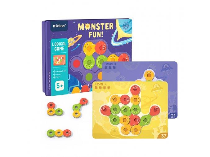 Zábava s příšerkami - logická hra