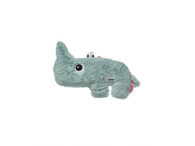 DONE BY DEER Mazlivá hračka Nozo modrá