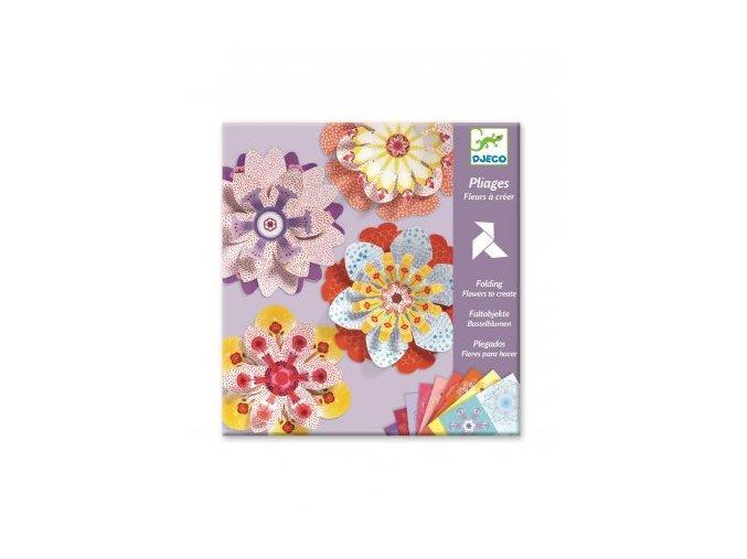 3258 1 origami kytky k dotvoreni