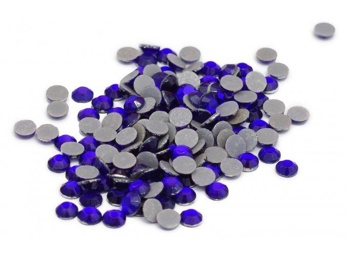 3mm (10ss)  Kobalt (modrá) nažehlovací korálky
