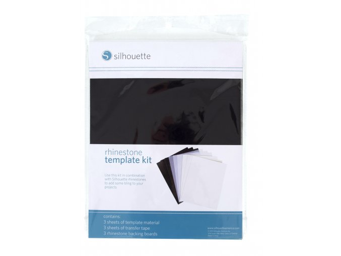 Rhinestone template kit