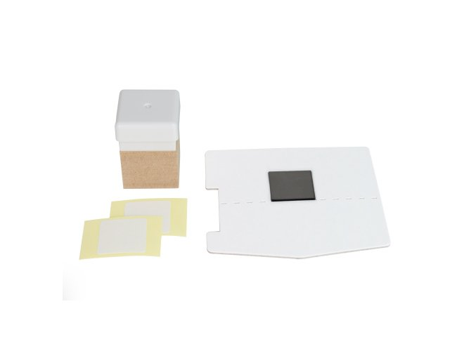 KIT Materiál pro razítko 15*15mm se základnou