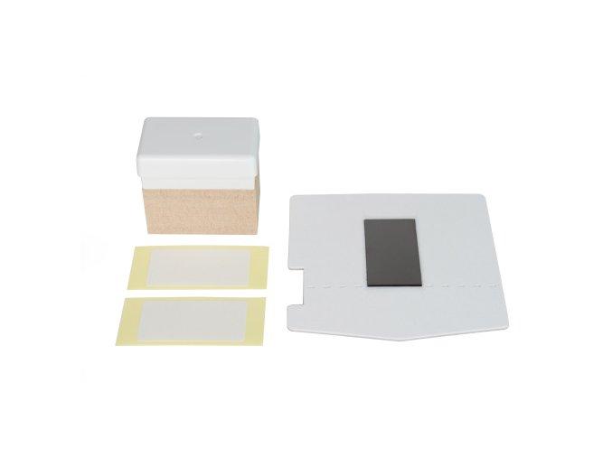 KIT Materiál pro razítko 15*30mm se základnou