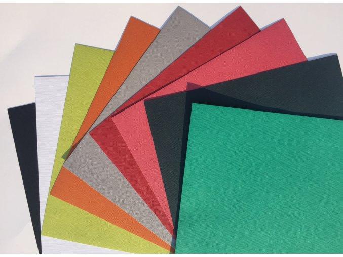 Mix 2 - barevné samolepící kartony 9ks