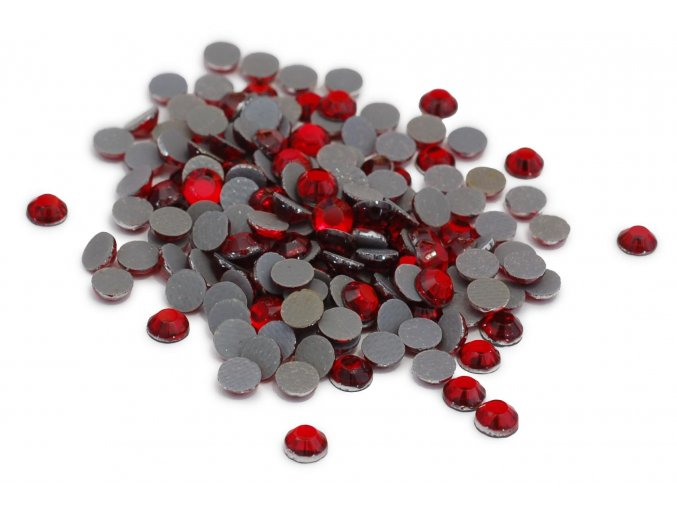5mm (20ss)  Červené nažehlovací korálky