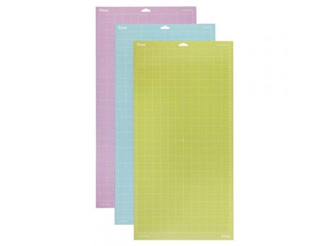 cricut 12x24 adhesive cutting mat variety 3 pack