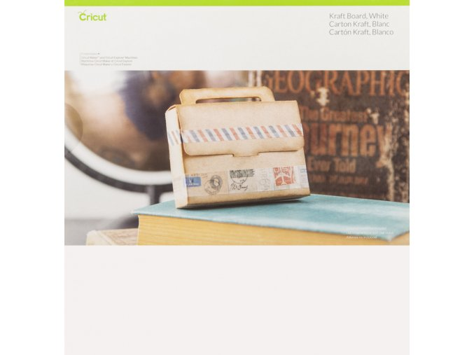 2003826 Cricut Kraftboard White 12x12 Pkg
