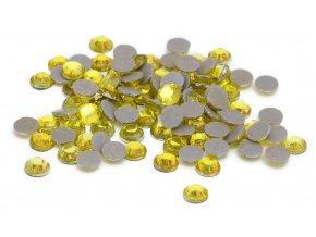 4mm (16ss)  Citrínová žluť nažehlovací korálky