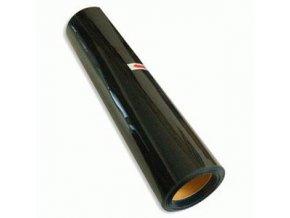 Černá hladká nažehlovací fólie 20*100cm
