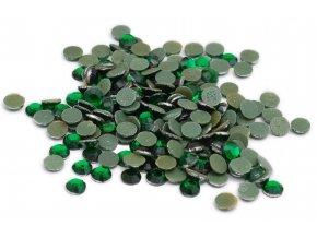 5mm (20ss)  Smaragd (zelená) nažehlovací korálky