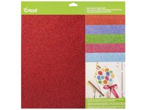2003711 Glitter Cardstock Brights Sampler Pkg