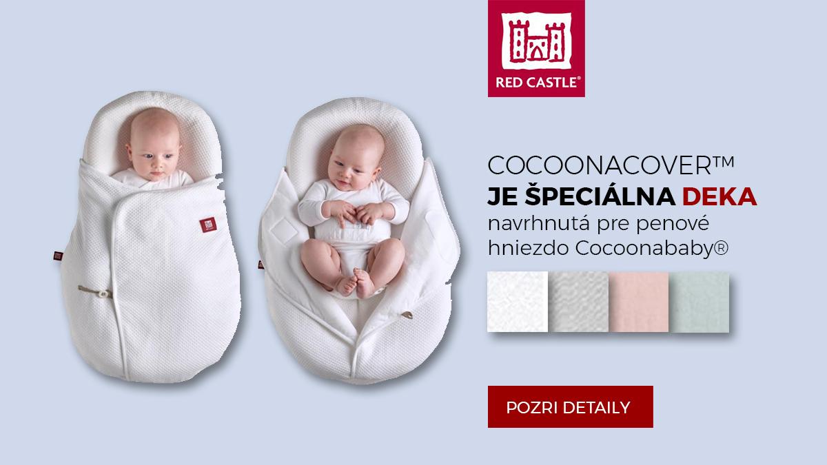 Cocoonacover™ je deka špeciálne navrhnutá pre penové hniezdo