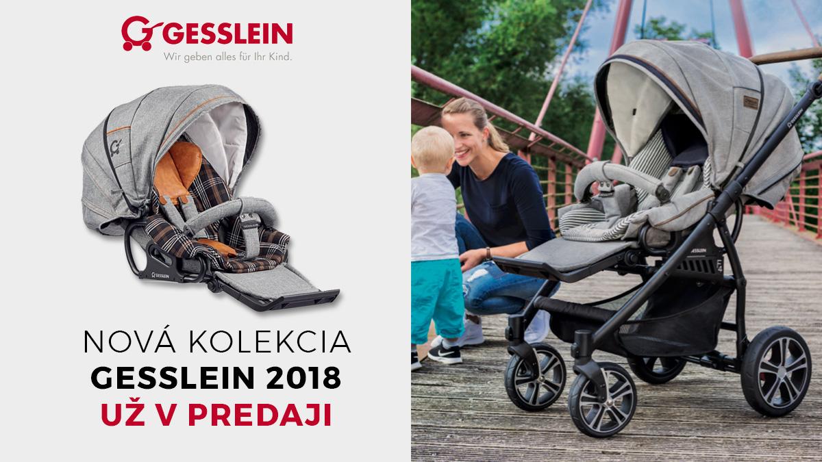 Novinky GESSLEIN 2018