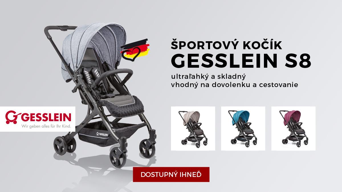 Športový kočík Gesslein S8