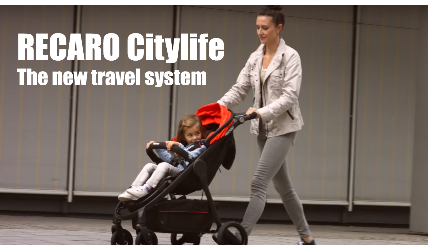 RECARO Citylife - The new travel system