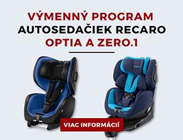 VÝMENNÝ PROGRAM AUTOSEDAČIEK RECARO OPTIA A ZERO.1