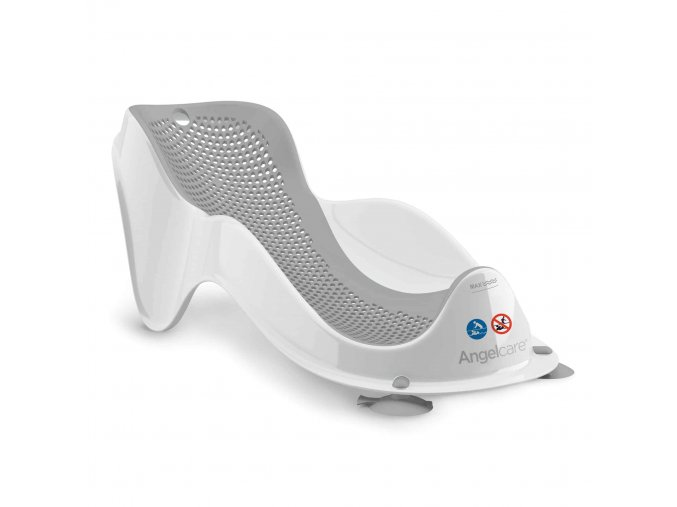 angelcare mini bath support grey 1