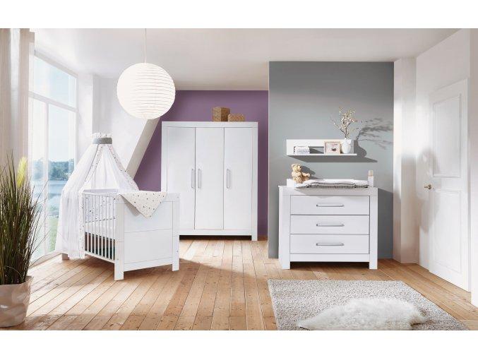 11 796 02 00 Kinderzimmer Nordic White