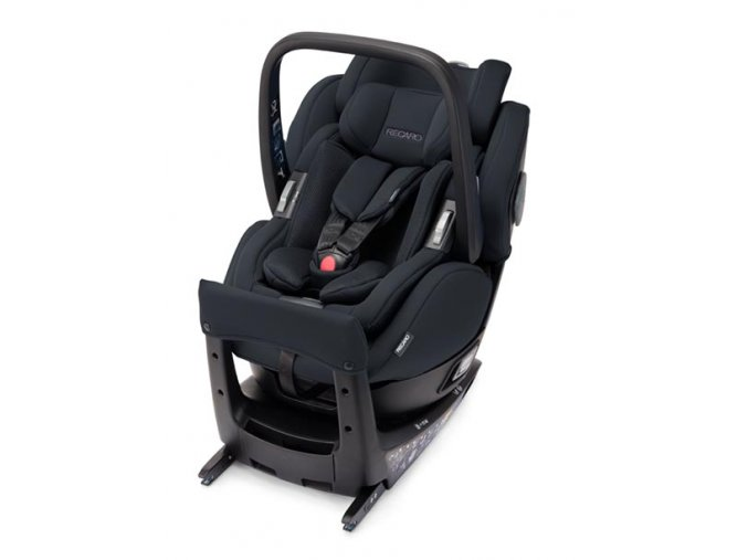 salia elite select night black reboarder recaro kids
