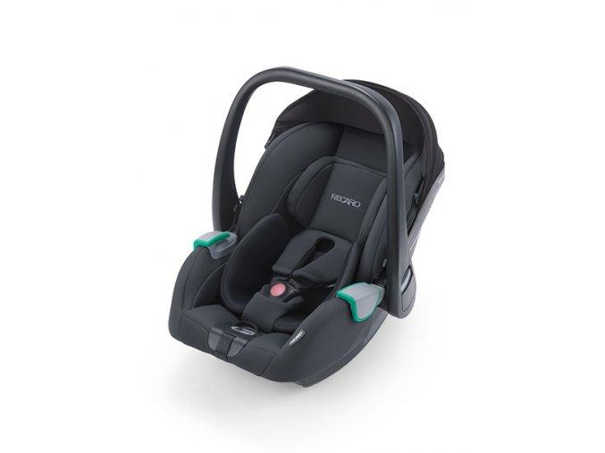 avan select night black infant carrier recaro kids