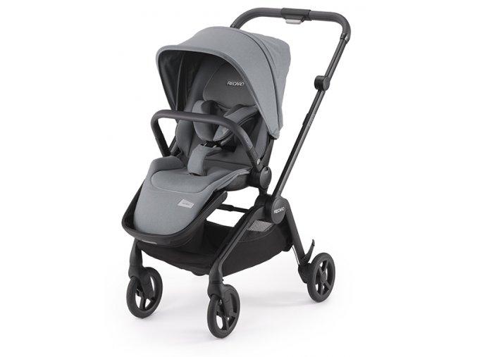 sadena black with seat unit prime silent grey stroller recaro kids