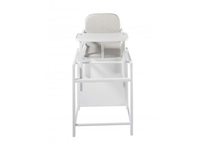 Schardt X-TRA II vysoká stolička biela