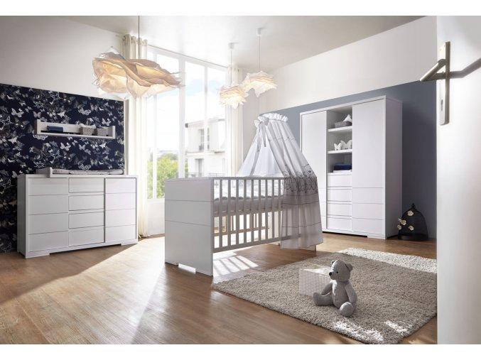 schardt maxx white detská izba