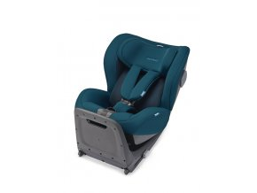 kio select teal green with base reboarder recaro kids
