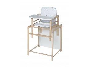 Schardt X-TRA II vysoká stolička natur