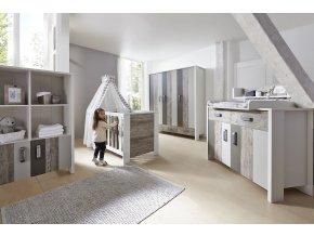 Schardt Woody Grey detská izba