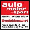 Recaro Young Sport HERO autosedačka