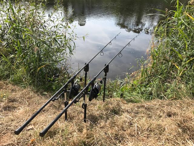 Dvě noci rybaření na Labi