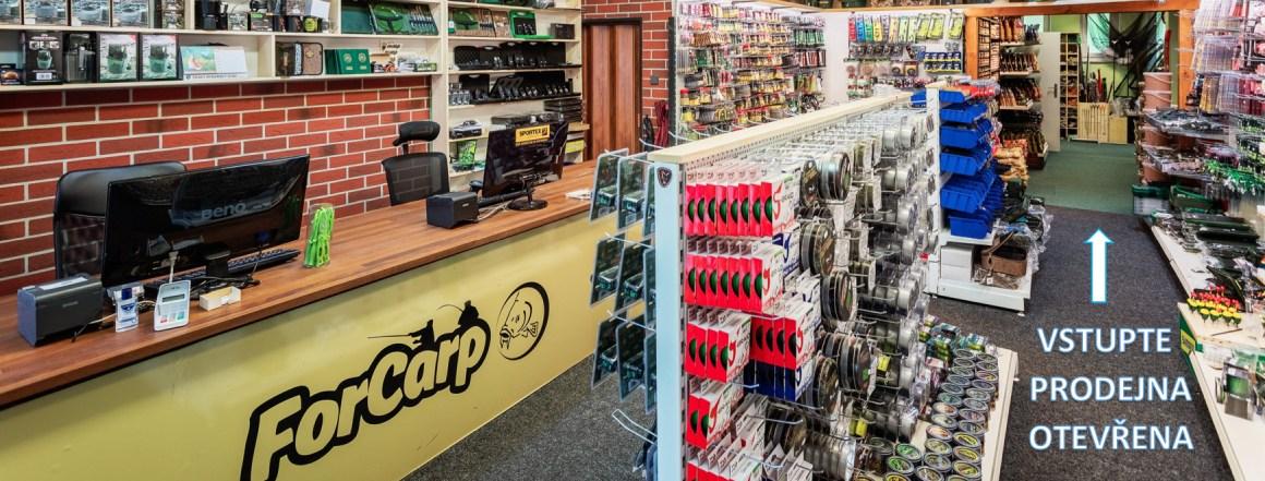 prodejna ForCarp otevřena