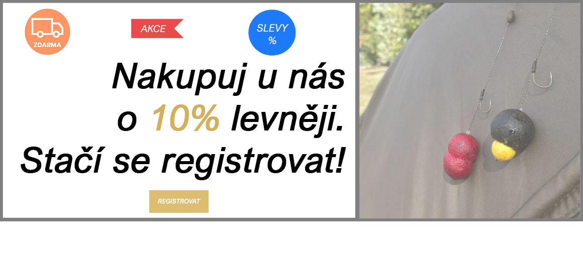 Získejte slevu 10%. Stačí se jen zaregistrovat.