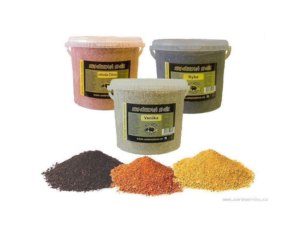 Krmítková směs - kbelík - 5,2 l/med (žlutá)  + Sleva 10% za registraci