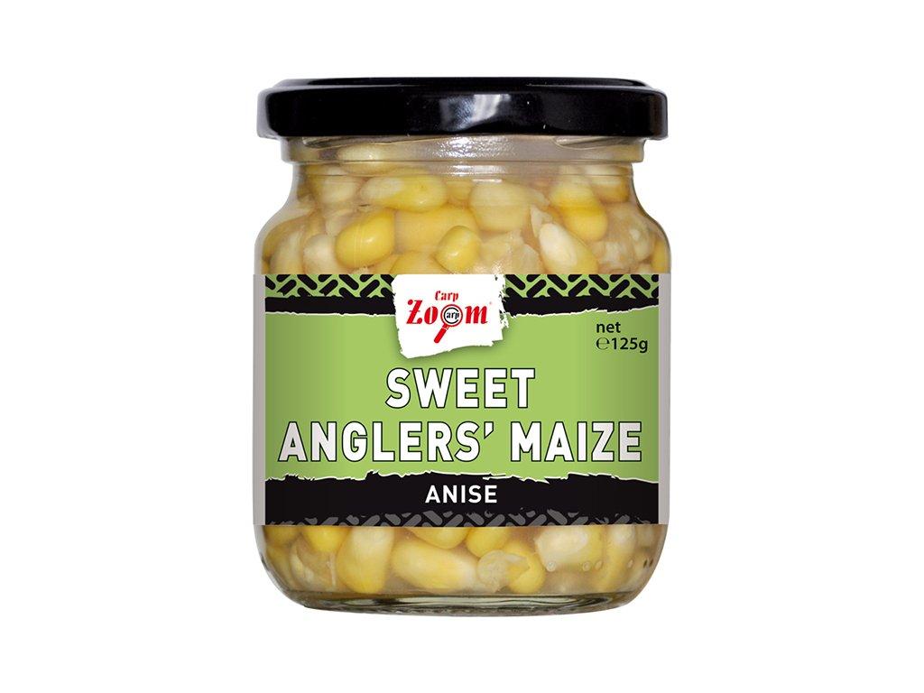 Carp Zoom Sweet Angler's Maize - 125 g/125 g/Anýz  + Sleva 10% za registraci