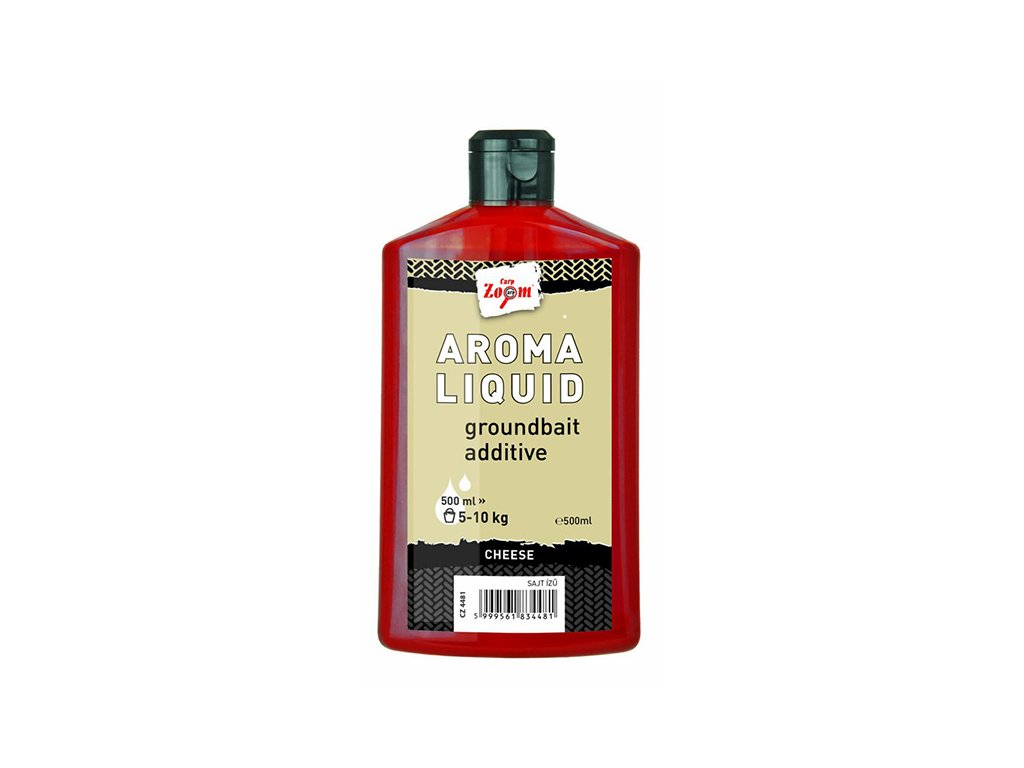 Carp Zoom Aroma Liquid - 500 ml/Oliheň - Halibut  + Sleva 10% za registraci