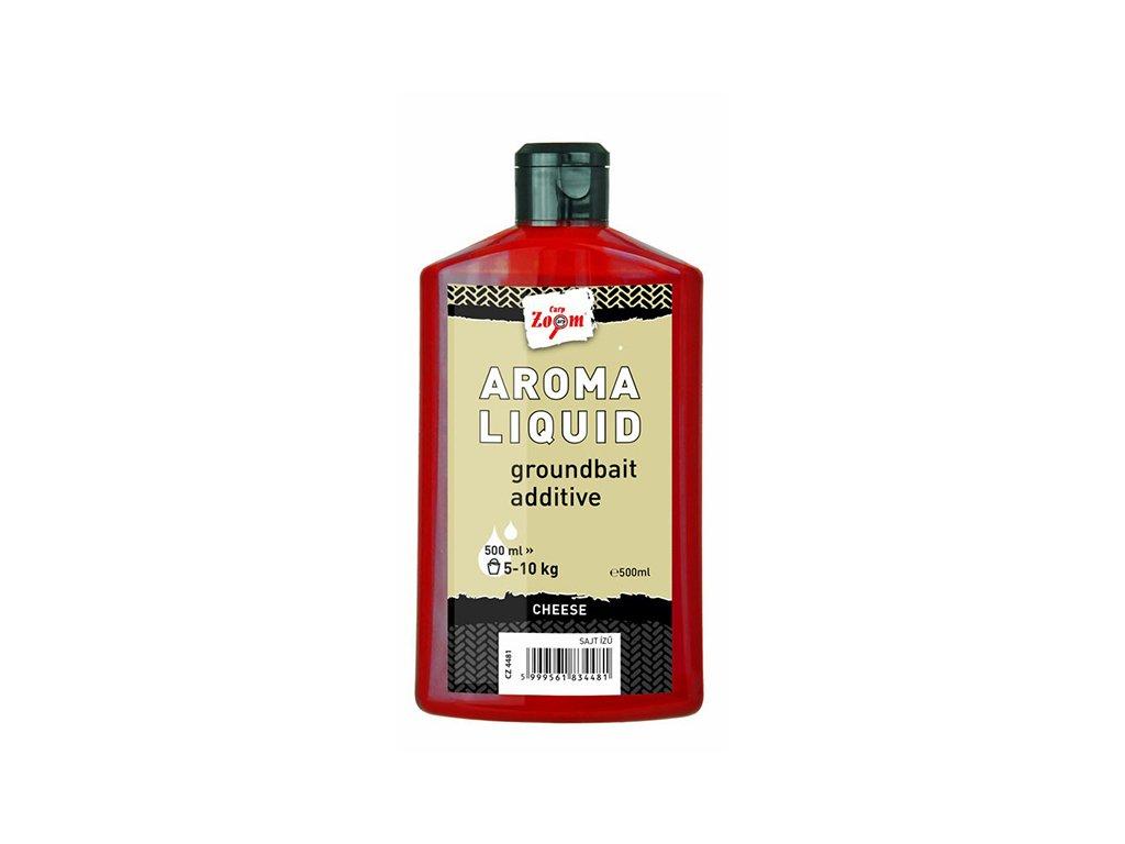 Carp Zoom Aroma Liquid - 500 ml/Oliheň - Halibut  + Sleva 10% za registraci