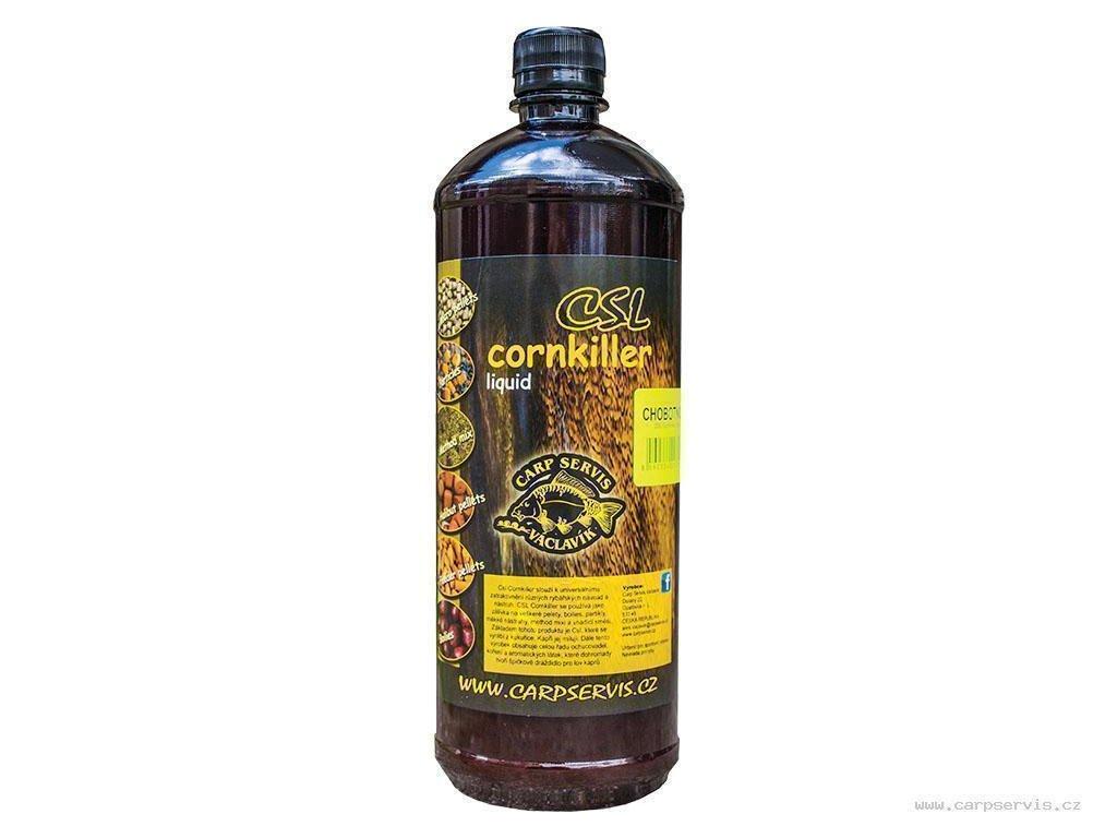 Carp Servis Václavík CSL Cornkiller Liquid - 1 l/přírodní játra  + Sleva 10% za registraci
