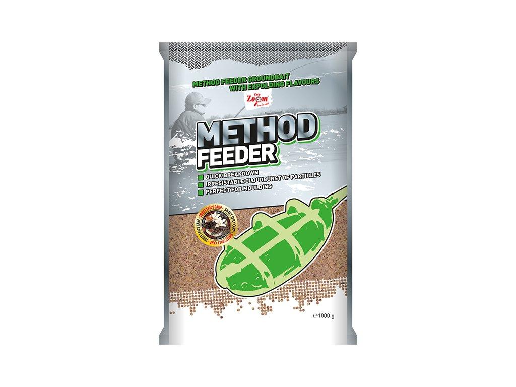Carp Zoom Method Feeder Groundbaits - 1 kg/ Sladké koření-Kapr